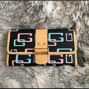 🛍2/$35 GUESS Multicolour Long Wallet